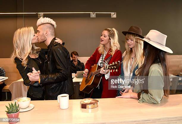 American Idol alum Colton Dixon surprises wife Annie with the first on demand serenade from Hershey's KISSES Chocolates and Uber in advance of...