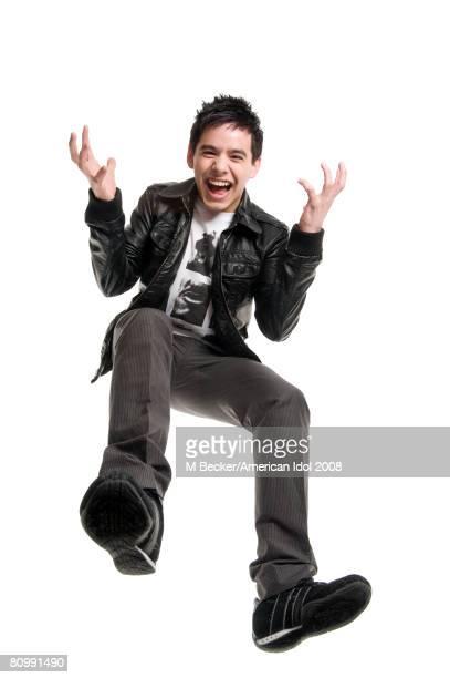 ACCESS*** American Idol contestant David Archuleta poses for a Top 10 Gallery portrait March 25 2008 in Los Angeles California