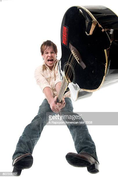 American Idol contestant David Cook poses for a portrait March 7 2008 in Los Angeles California