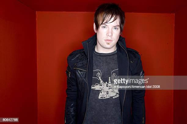 ACCESS*** American Idol contestant David Cook poses for a portrait March 7 2008 in Los Angeles California