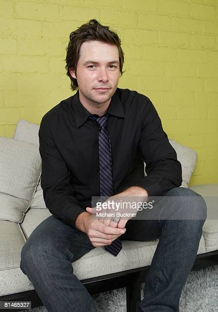 American Idol contestant Michael Johns poses for a portrait during the Australians In Film 2008 Breakthrough Awards held at the Avalon Hotel on June...