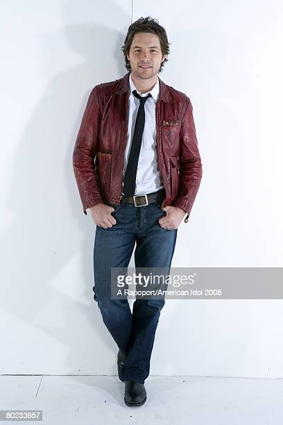 American Idol contestant Michael Johns poses for a portrait March 7 2008 in Los Angeles California