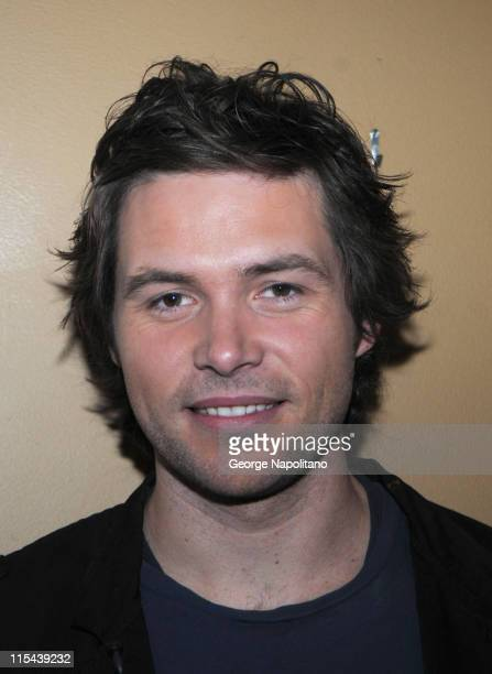 American Idol contestant Michael Johns visits The Morning Show with Mike Juliet on April 15 2008 in New York City