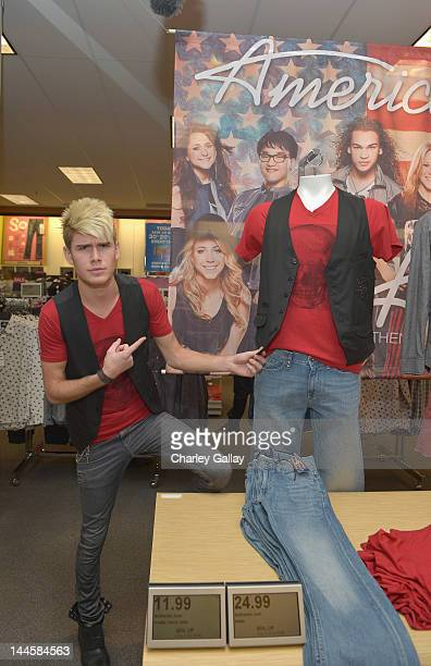 American Idol contestent Colton Dixon attends the American Idol Season 11 contestants appear at Los Angeles Kohl's for American Idol's Authentic Icon...
