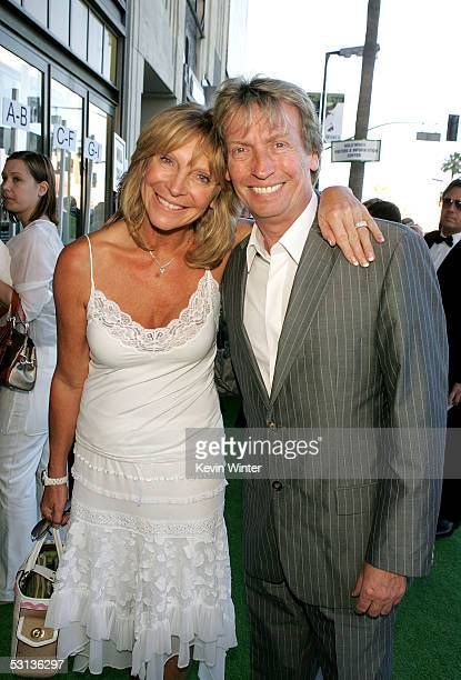 American Idol Executive Producer Nigel Lythgoe and wife Bonnie arrive at the Los Angeles Premiere of the Broadway musical 'Wicked' at the Pantages...