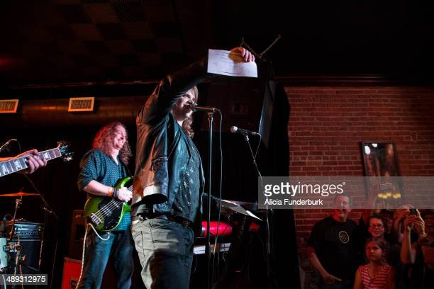 """American Idol"""" finalist Caleb Johnson announces the songs he will perform next week on """"American Idol"""" at The Emerald Lounge during his homecoming on..."""