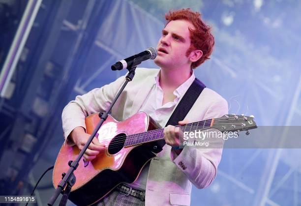 American Idol finalist Jeremiah Lloyd Harmon performs at the 2019 Capital Pride Concert on June 09 2019 in Washington DC