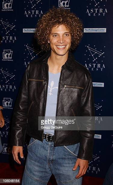 """American Idol"" Finalist Justin Guarini during Astra West Grand Opening - Arrivals at Astra West in West Hollywood, California, United States."