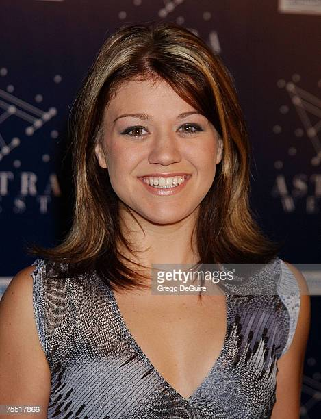 'American Idol' Finalist Kelly Clarkson at the Astra West in West Hollywood California