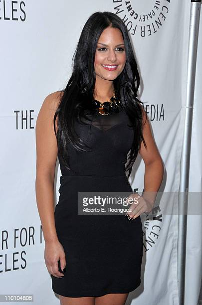 American Idol Finalist Pia Toscano arrives at Paley Center for Media's Paleyfest 2011 event honoring 'American Idol' held at Saban Theater on March...