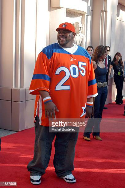 American Idol Finalist Ruben Studdard poses during the Academy of Television Arts Sciences Activities Committee present American Idol Live featuring...
