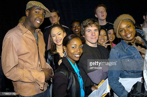 American Idol Finalists during Nickelodeon's 17th Annual Kids' Choice Awards Backstage at Pauley Pavillion in Westwood California United States