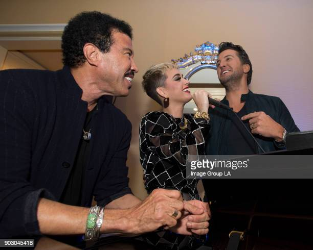 """American Idol"""" Happy Hour - The cast and executive producers of """"American Idol"""" addressed the press at Disney 