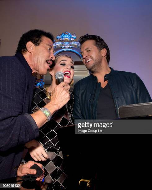 TOUR 2018 American Idol Happy Hour The cast and executive producers of American Idol addressed the press at Disney | Walt Disney Television via Getty...
