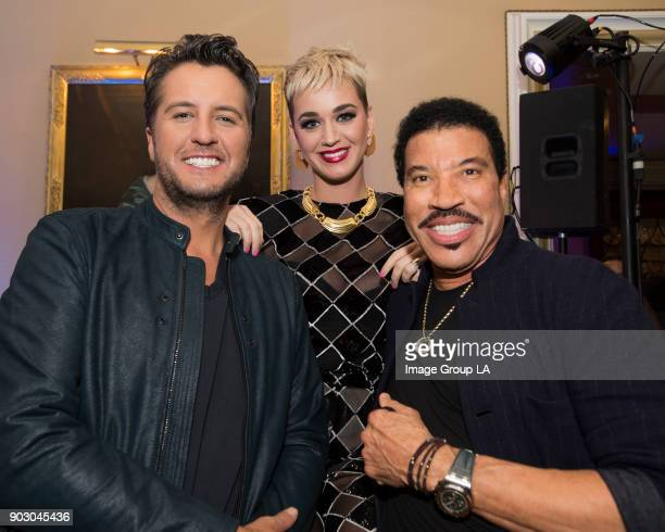 TOUR 2018 'American Idol' Happy Hour The cast and executive producers of 'American Idol' addressed the press at Disney | ABC Television Group's...