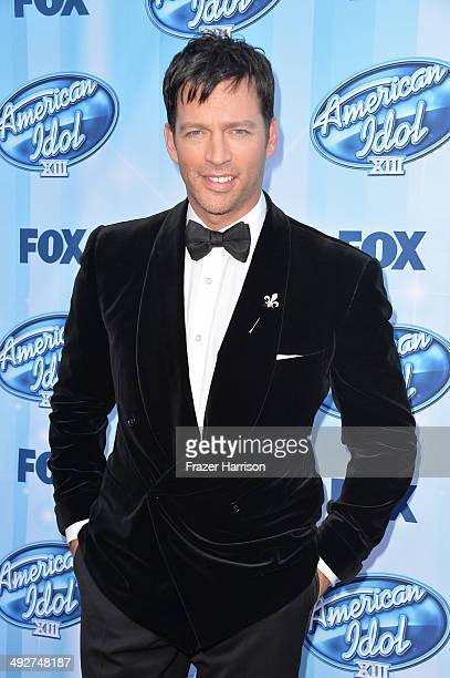 American Idol Judge Harry Connick Jr attends Fox's American Idol XIII Finale at Nokia Theatre LA Live on May 21 2014 in Los Angeles California