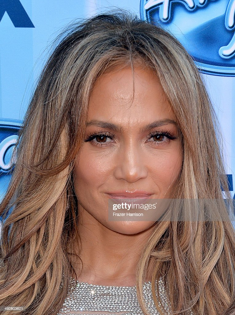 American Idol judge Jennifer Lopez attends Fox's 'American Idol' XIII Finale at Nokia Theatre L.A. Live on May 21, 2014 in Los Angeles, California.