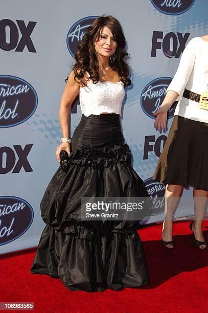 American Idol judge Paula Abdul during American Idol Season 5 Finale Arrivals at Kodak Theater in Hollywood California United States