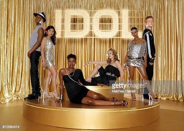 American Idol season 3 finalists John Stevens La Toya London Jasmine Trias George Huff Diana DeGarmo and Fantasia Barrino Fantasia Barrino won the...