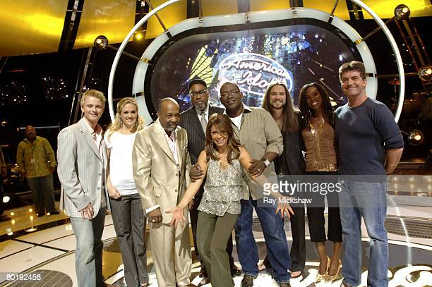 American Idol Season 4 Anthony Fedorov from Trevose Pensylvania Carrie Underwood from Checotah Oklahoma songwriters Leon Huff and Kenneth Gamble...