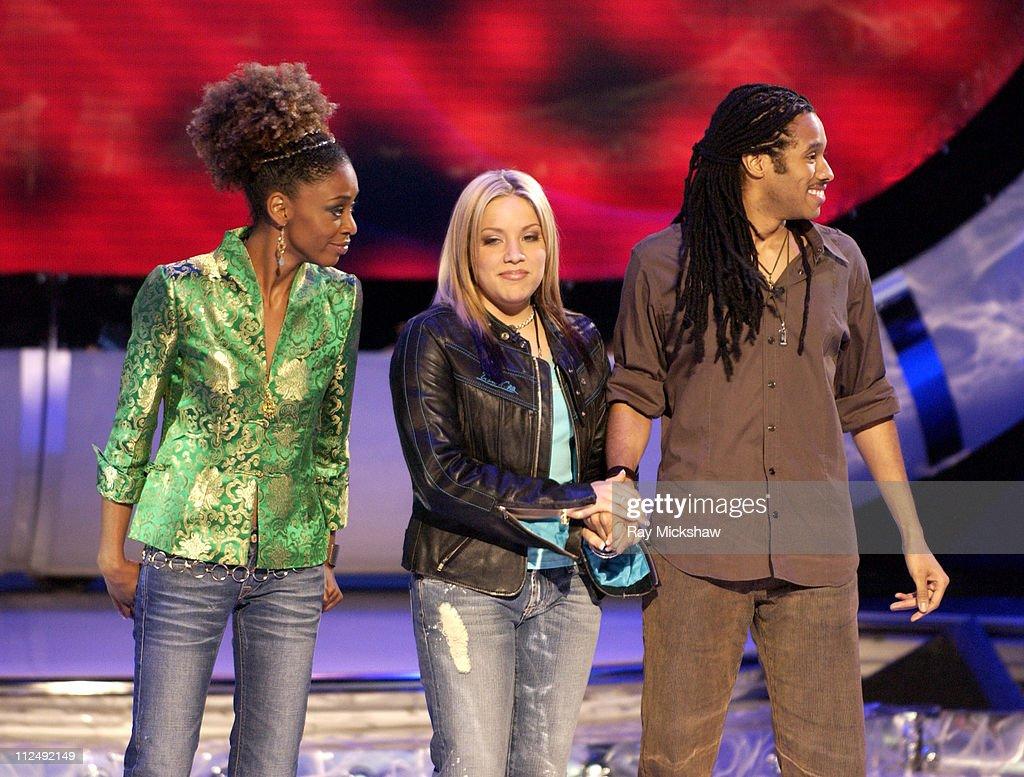"""American Idol"" Season 4 - Results Show - March 30, 2005"