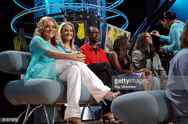 American Idol Season 4 Top 11 Finalists Jessica Sierra from Tampa Florida Carrie Underwood from Checotah Oklahoma Nikko Smith from St Louis Missouri...