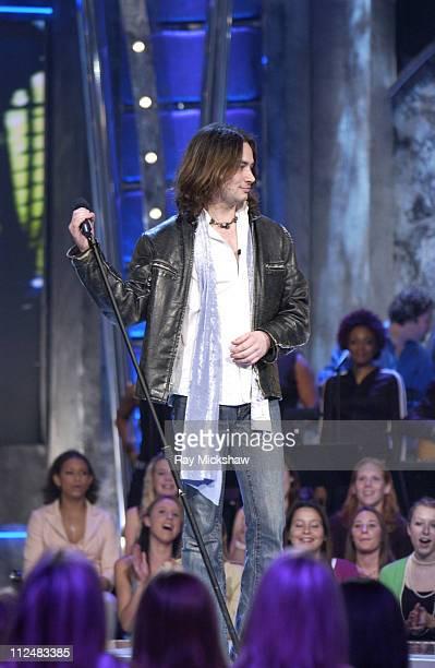 'American Idol' Season 4 Top 24 Semifinalist Constantine Maroulis from New York City New York