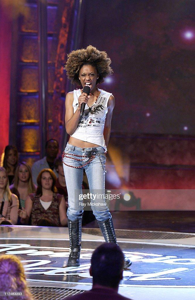 """American Idol"" Season 4 - Girls Performance Show - February 22, 2005"