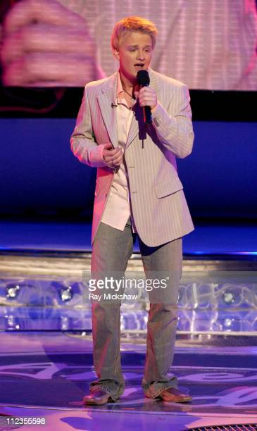 'American Idol' Season 4 Top 4 Finalist Anthony Fedorov from Trevose Pensylvania