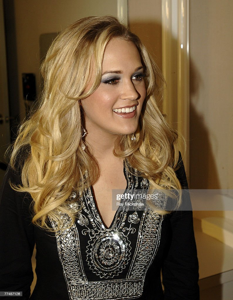 'American Idol' Season 4 - Top 4 Finalist, Carrie Underwood, 21, from Checotah, Oklahoma