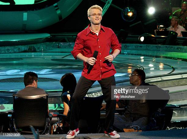 'American Idol' Season 4 Top 5 Finalist Anthony Fedorov from Trevose Pensylvania
