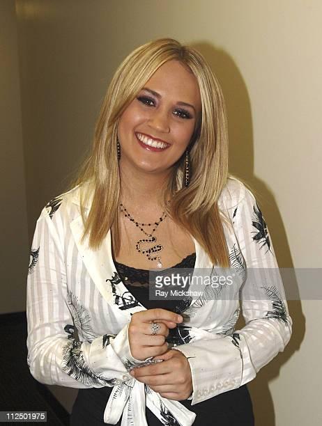 'American Idol' Season 4 Top 5 Finalist Carrie Underwood from Checotah Oklahoma