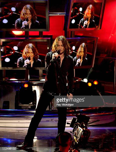 'American Idol' Season 4 Top 6 Finalist Constantine Maroulis from New York City New York