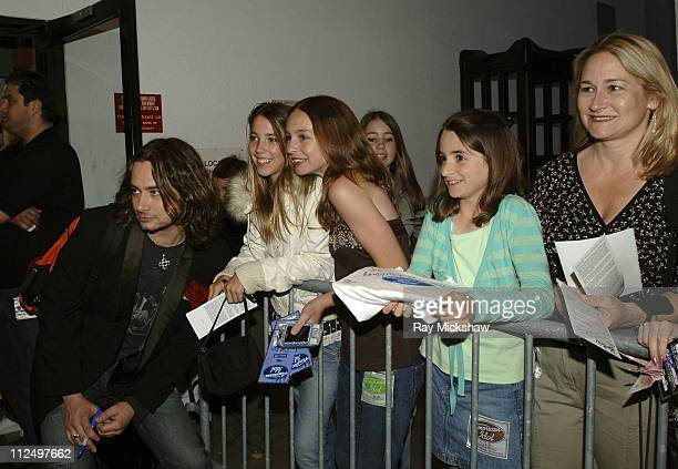 'American Idol' Season 4 Top 7 Finalist Constantine Maroulis from New York City New York and fans