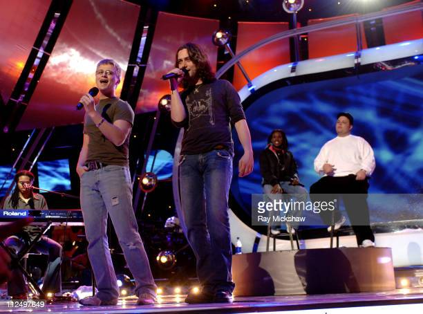 'American Idol' Season 4 Top 7 Finalists Anthony Fedorov Constantine Maroulis Vonzell Solomon and Scott Sadel