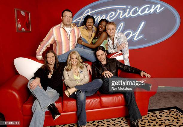 'American Idol' Season 4 Top 7 Finalists Scott Savol from Cleveland Ohio Anwar Robinson from Newark New Jersey Vonzell Solomon from Fort Myers...