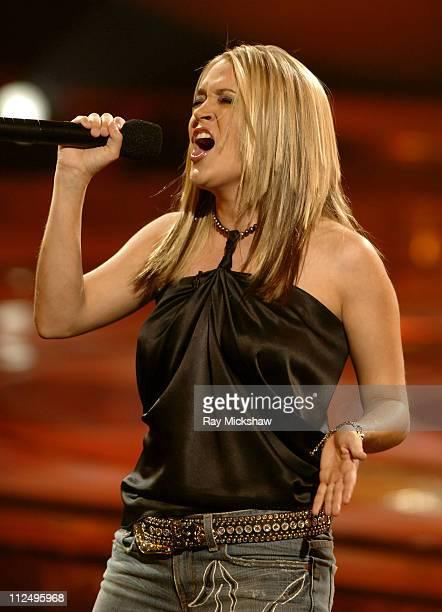 'American Idol' Season 4 Top 8 Finalist Carrie Underwood from Checotah Oklahoma