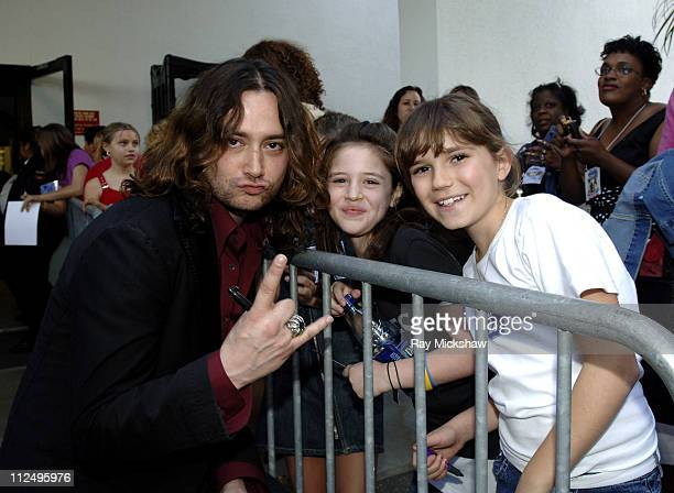 'American Idol' Season 4 Top 8 Finalist Constantine Maroulis from New York City New York and fans