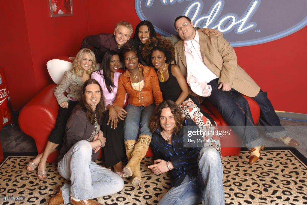 """American Idol"" Season 4 - Results Show - April 6, 2005"