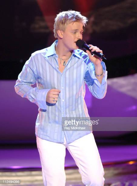 'American Idol' Season 4 Top 9 Finalist Anthony Fedorov from Trevose Pensylvania