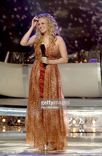 'American Idol' Season 4 Winner Carrie Underwood from Checotah Oklahoma