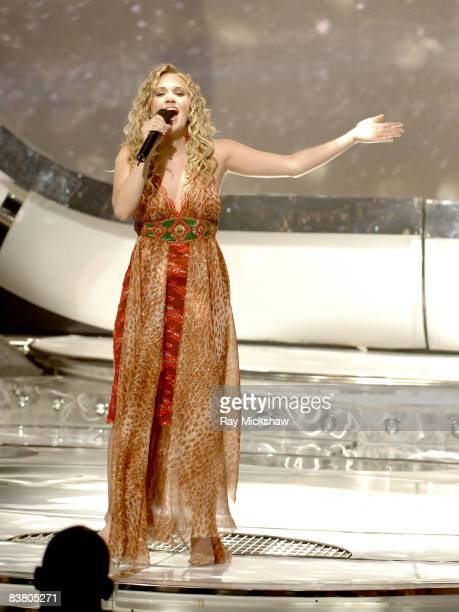 'American Idol' Season 4 Winner Carrie Underwood from Checotah Oklahoma