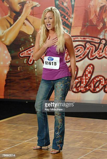 'American Idol' Season 5 Contestant Kellie Pickler of Albemarle North Carolina *EXCLUSIVE*