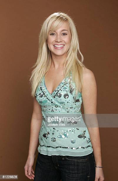 American Idol Season 5 Contestant Kellie Pickler of Albemarle North Carolina *EXCLUSIVE*