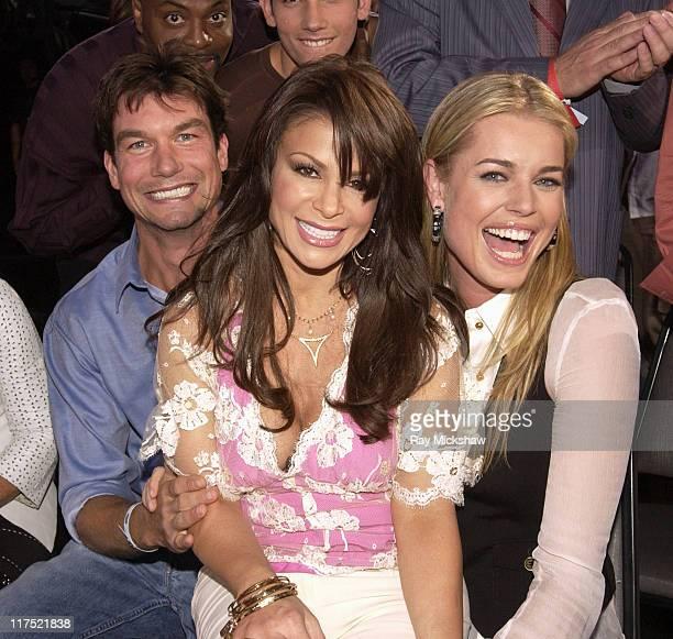 'American Idol' Season 5 Jerry O'Connell Paula Abdul judge and Rebecca Romijn*EXCLUSIVE*