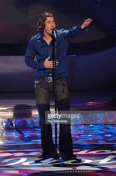 """""""American Idol"""" Season 5 - Top 11 Finalist, Ace Young from Denver, Colorado *EXCLUSIVE*"""