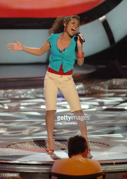 """American Idol"" Season 5 - Top 11 Finalist, Lisa Tucker from Anaheim, California *EXCLUSIVE*"