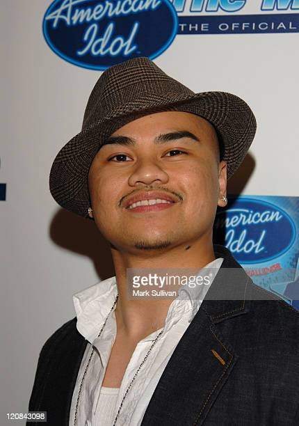 American Idol Season 5 Top 24 Finalist Jose Penala of South San Francisco California *EXCLUSIVE*