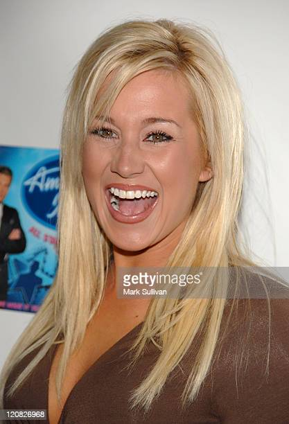 American Idol Season 5 Top 24 Finalist Kellie Pickler of Albemarle North Carolina *EXCLUSIVE*