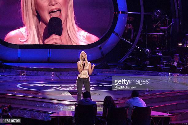 American Idol Season 5 Top 6 Finalist Kellie Pickler of Albemarle North Carolina *EXCLUSIVE*